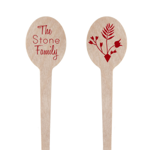 The ever-popular Oval Stir Stick with Shiny Convertible Red Foil has a Gardent Flourish graphic and is good for use in Accents, Floral themed parties and are a must-have for your next event—whatever the celebration!
