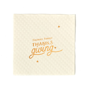 Family Thanksgiving Napkin