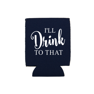 Our custom Navy Flat Can Cooler with Matte White Ink Cup Ink Colors has a Mogul Skiing graphic and is good for use in Sports themed parties and couldn't be more perfect. It's time to show off your impeccable taste.