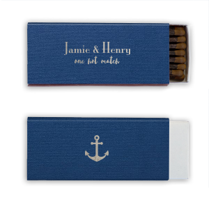 Nautical Wedding Match
