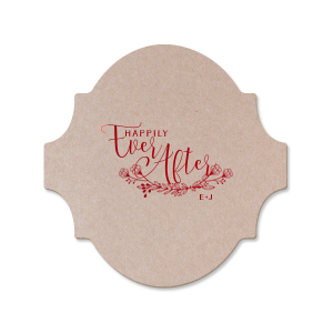 Custom Eggshell Square Coaster with Shiny 18 Kt Gold Foil Color has a HandWreathReception graphic and is good for use in Lovely Press themed parties and couldn't be more perfect. It's time to show off your impeccable taste.
