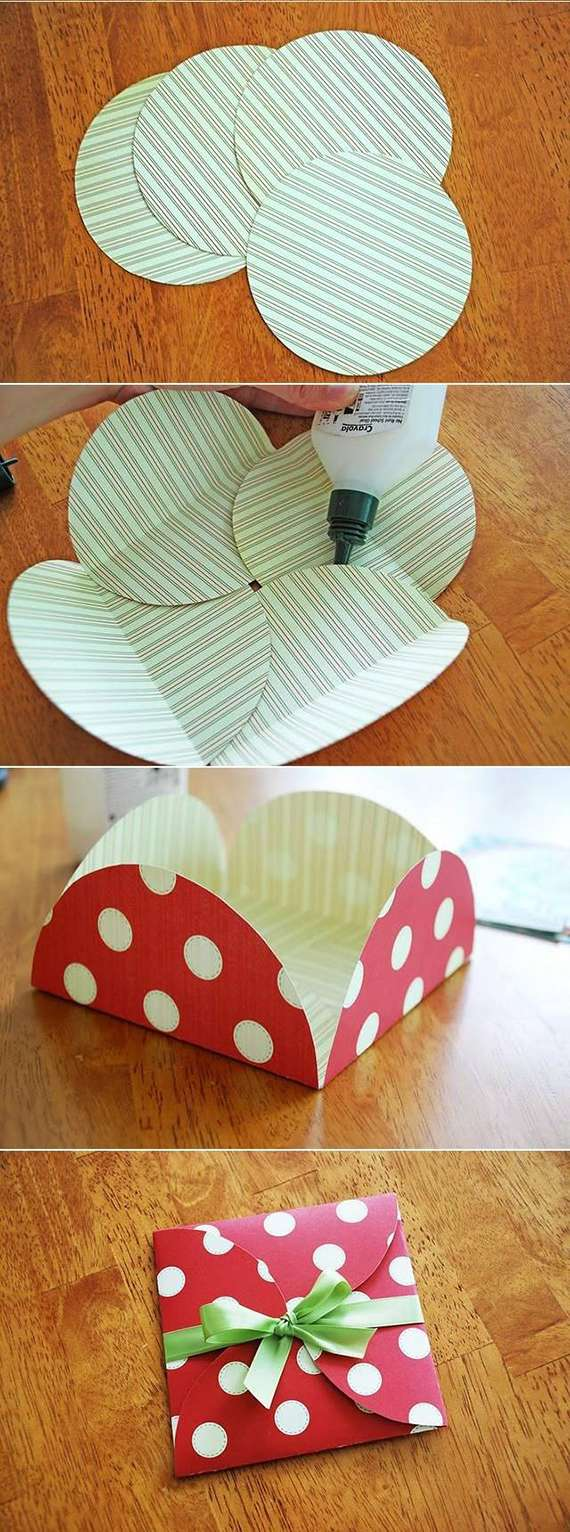 Circle Paper Envelope DIY