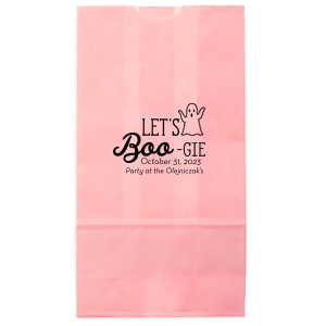 The ever-popular Hot Pink Party Bag with Matte Black Foil has a Ghost graphic and is good for use in Halloween themed parties and will impress guests like no other. Make this party unforgettable.