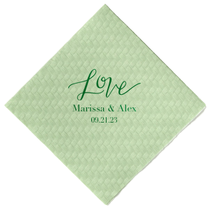 Love Graphic Napkin