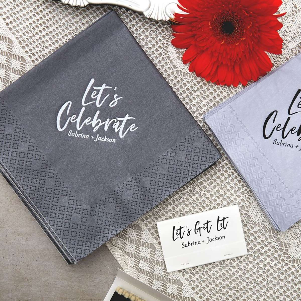 custom luncheon napkins