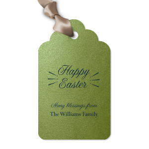 Easter Blessings Tag