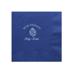 The ever-popular Amethyst Guest Towel with Matte Key Lime Foil has a Palm Leaf graphic and is good for use in Organic, Floral, Trendy themed parties and will impress guests like no other. Make this party unforgettable.