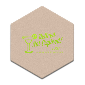 Retired Not Expired Coaster