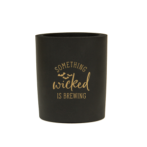 Personalized Black Round Can Cooler with Gold Ink Cup Ink Colors has a Bats graphic and is good for use in Halloween, Holiday, Animals themed parties and couldn't be more perfect. It's time to show off your impeccable taste.