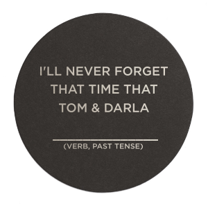 The ever-popular White Round Coaster with Shiny Lavender Foil will look fabulous with your unique touch. Your guests will agree!