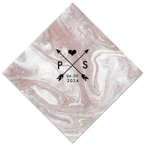 Our beautiful custom Marble Taupe Cocktail Napkin with Matte Black Foil has a Cross Arrows 1 graphic and is good for use in Accents, Frames themed parties and will give your party the personalized touch every host desires.