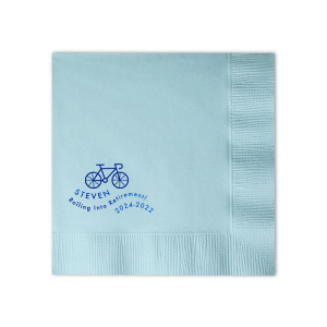 Rolling Into Retirement Napkin