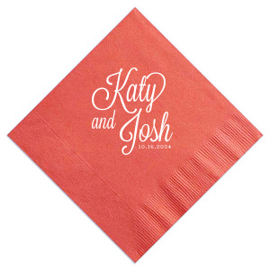 our beautiful black cocktail napkin with shiny green tea imprint foil color is good for use