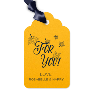 The ever-popular Poptone Sunflower Arch Gift Tag with Matte Navy Foil Color has a Fall Wedding Accommodation graphic and is good for use in Lovely Press themed parties and will give your party the personalized touch every host desires.