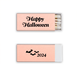 Personalized Stardream Ballet Pink Lipstick Matchbox with Matte Black Foil has a Bats graphic and is good for use in Halloween, Holiday, Animals themed parties and can be personalized to match your party's exact theme and tempo.
