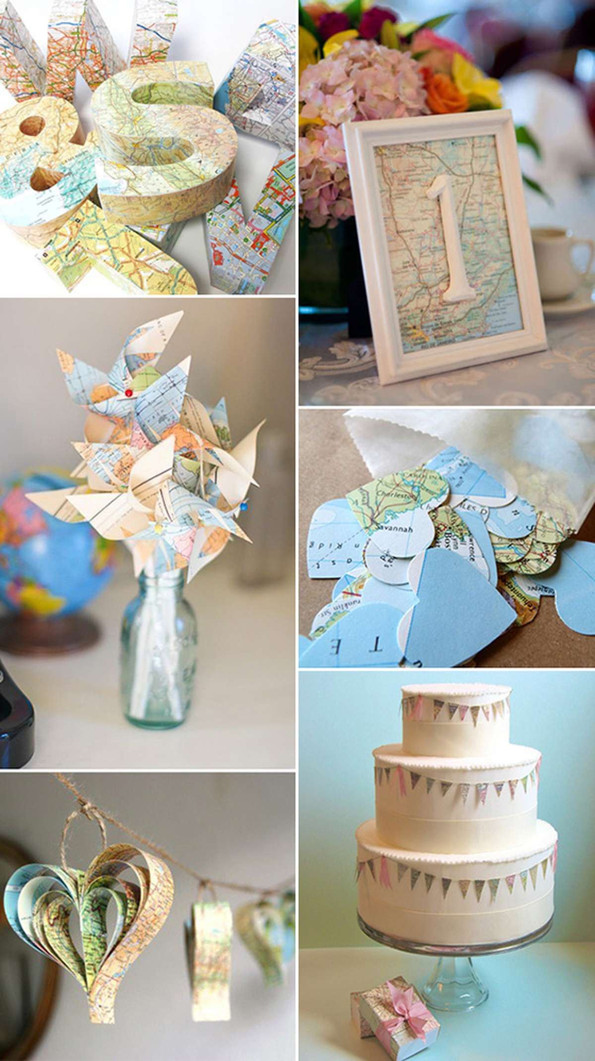 Create Map Decor Ideas