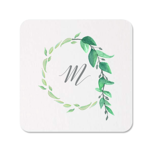 The ever-popular White Photo/Full Color Round Coaster with Matte Slate Gray Ink Digital Print Colors couldn't be more perfect. It's time to show off your impeccable taste.