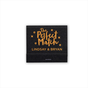 For Your Party's personalized Galvanized Silver Shimmer 30 Strike Matchbook with Shiny Fuchsia Foil Color has a Perfect Match graphic and is good for use in Wedding themed parties and can't be beat. Showcase your style in every detail of your party's theme!
