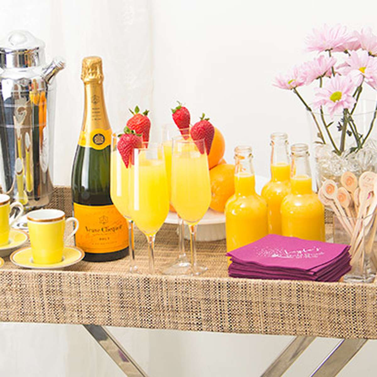 Mimosa Bridal Brunch