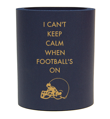 Personalized Football Game Day Koozie