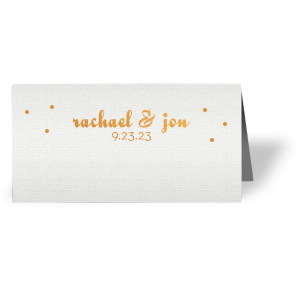 Dots Place Card