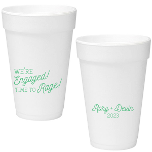 Time to Rage Foam Cup