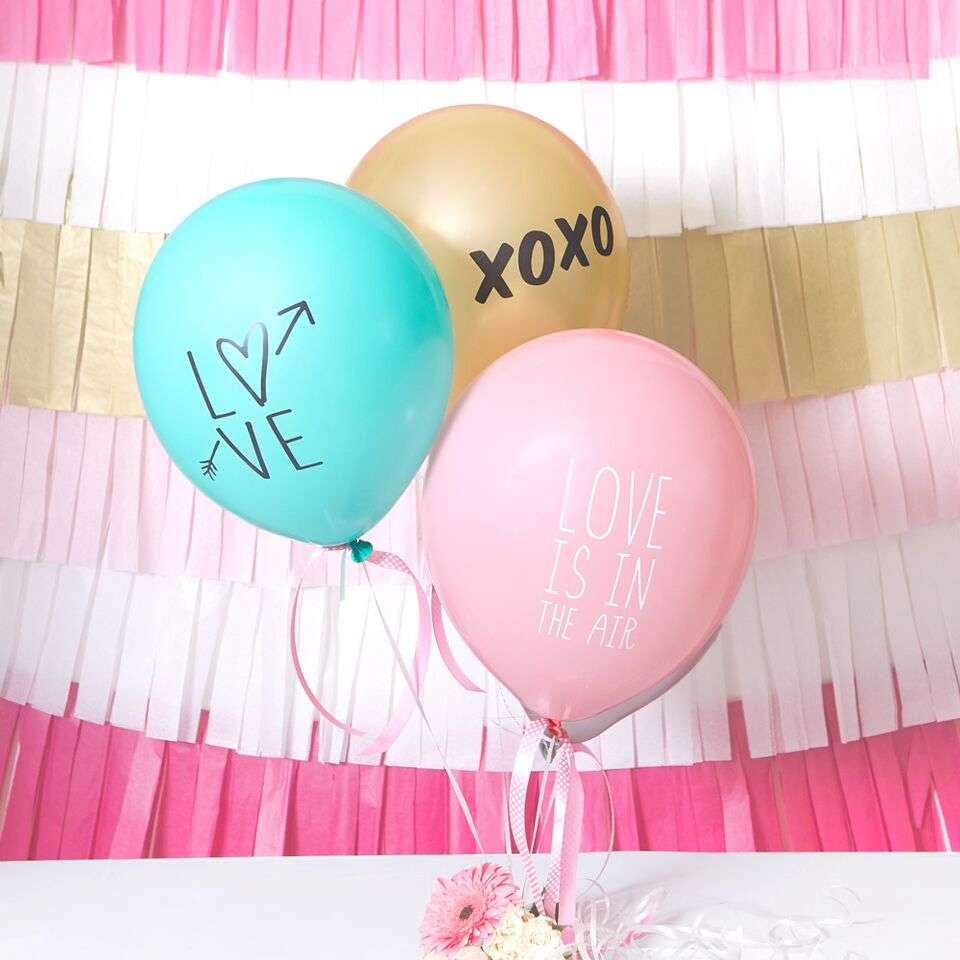 Love Themed Balloons by For Your Party