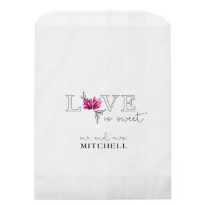 Love Is Sweet Photo/Full Color Party Bag