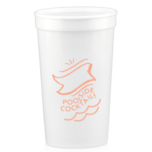 Poolside Drink Stadium Cup