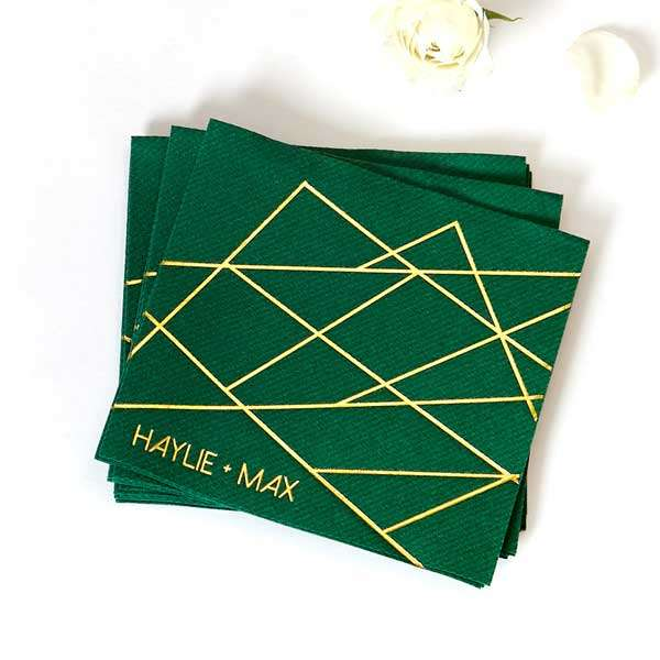 Statement Cocktail Napkins