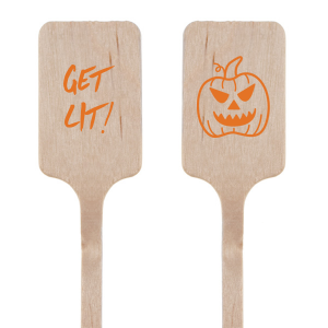 Get Lit Pumpkin Stir Stick