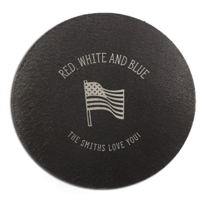 Holiday Flag Coaster