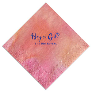The Big Reveal Napkin
