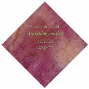 Getting Married! Napkin
