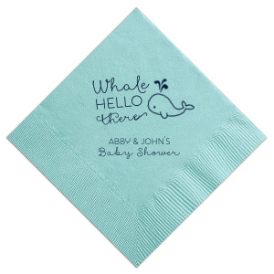 Whale Hello There Napkin