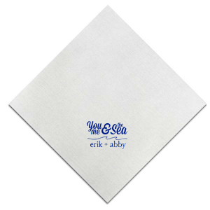 You, Me & The Sea Napkin