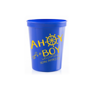 Ahoy It's A Boy Stadium Cup