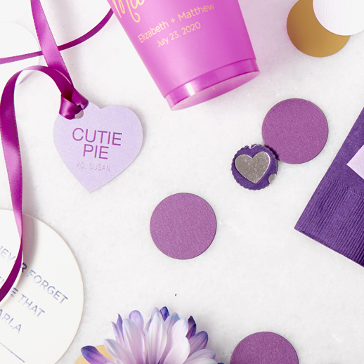pantone ultra violet 2018 color of the year party supplies