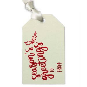 Luggage Gift Tag