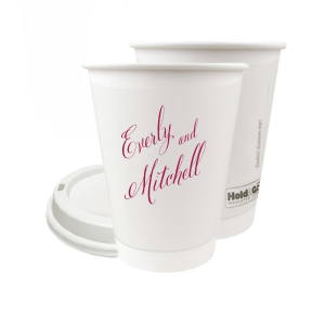 Our personalized Paper Coffee Cup with Lid with Matte Dark Magenta Ink Cup Ink Colors can't be beat. Showcase your style in every detail of your party's theme!