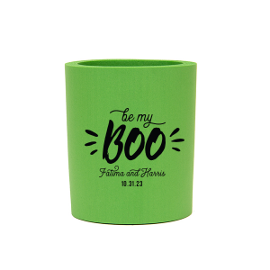 Our custom Neon Green Flat Can Cooler with Matte Black Ink Cup Ink Colors couldn't be more perfect. It's time to show off your impeccable taste.