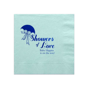 Showers of Love Napkin
