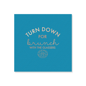 Brunch Time Napkin