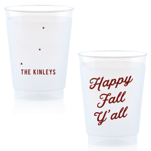 Happy Fall Y'all Frost Flex Cup