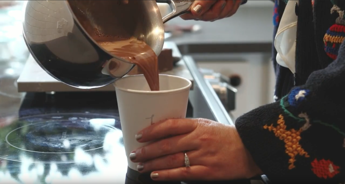 how to make hot chocolate cocktail from scratch