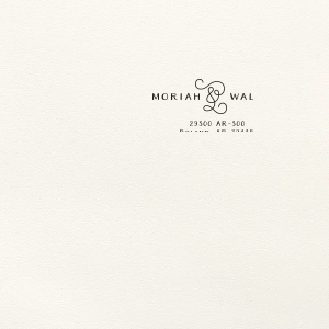 Personalized Lettra Pearl White 110lb Invitation Envelope with Black Ink Letterpress Inks will impress guests like no other. Make this party unforgettable.