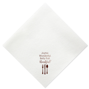 Belly Full Napkin