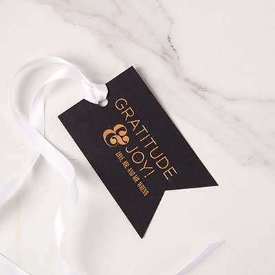 Double Point Gift Tag