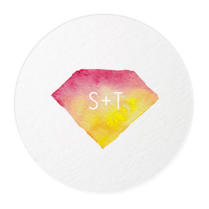 ForYourParty's chic White Photo/Full Color Round Coaster with Matte White Ink Digital Print Colors will add that special attention to detail that cannot be overlooked.