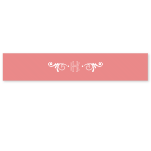 Sappho Monogram Ribbon